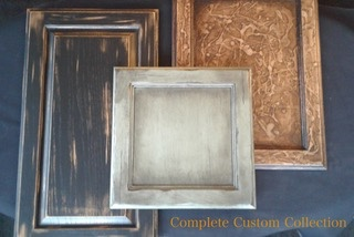 complete custom kitchen cabinets refinishing image
