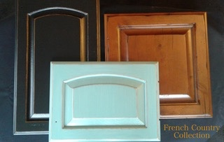 Kitchen Cabinet Refinishing image showing french country style